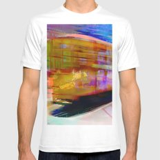 Cable Cars  Mens Fitted Tee MEDIUM White