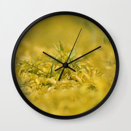 Yellow, Yellow, Super Fellow Wall Clock