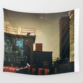 New York Love Wall Tapestry