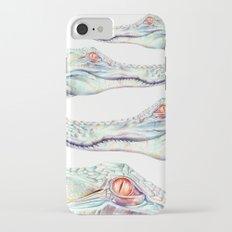 Albino Alligator iPhone 7 Slim Case