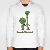 boyfriend Hoodies featuring Broccolini Boyfriend by khalan