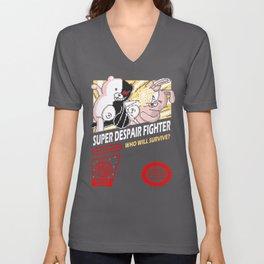 Super Despair Fighter Unisex V-Neck