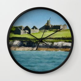 Cork Ireland Vintage Travel Poster Wall Clock