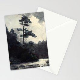 Adirondack Lake by Winslow Ho mer (1889) Stationery Cards