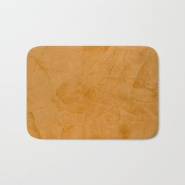 Tuscan Orange Stucco Bath Mat