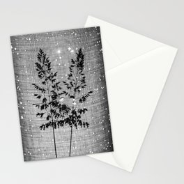 Delicate grasses - light and shadow #2 Stationery Cards