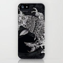 Ornate Mandala Style Koi iPhone Case