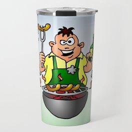 BBQ - Grill Travel Mug