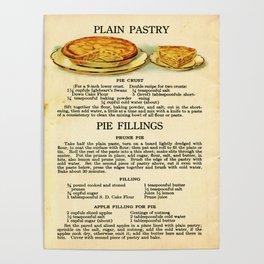 Pies - Vintage Poster