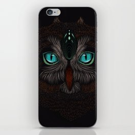 Owl Totem iPhone Skin