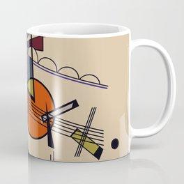 Abstract Composition 522 Coffee Mug