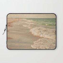 Tropical Beach Love Laptop Sleeve
