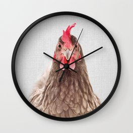 Chicken - Colorful Wall Clock