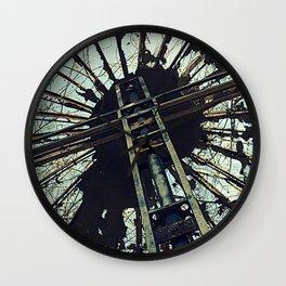 Hell House Cross Wall Clock