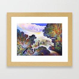 """Silenzio"" (Silence) Framed Art Print"
