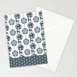 ART DECO BLU WEIM Stationery Cards