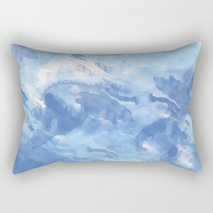 Abstract 43 Rectangular Pillow