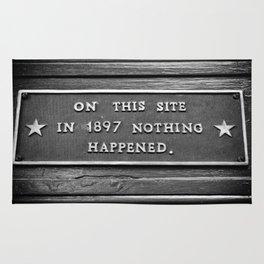 Signs: 1897 Rug