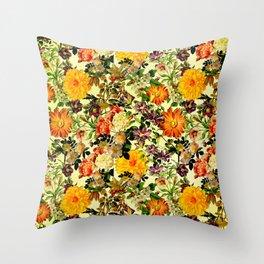 Floriculture Throw Pillow