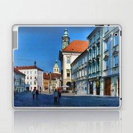 Spot the Clock Ljubljana Laptop & iPad Skin