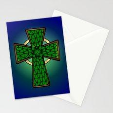 Shamrock Celtic Cross Stationery Cards