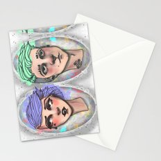 Punk Outside The Lines Stationery Cards