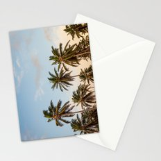 Sky beach palmier Stationery Cards