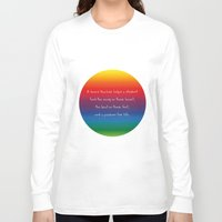 teacher Long Sleeve T-shirts featuring {Teacher -Dance} by tutubi creative