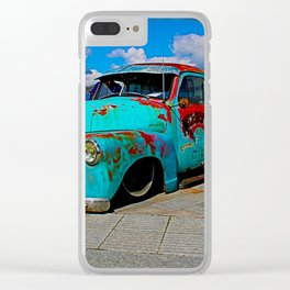 classic in bold Clear iPhone Case