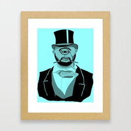 The Greatest Mustache Unknown to Man Framed Art Print