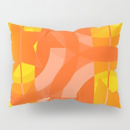 hoe is afraid of orange and yellow Pillow Sham