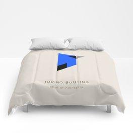 Indigo Bunting Comforters