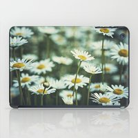 daisies iPad Cases featuring daisies by Bonnie Jakobsen-Martin