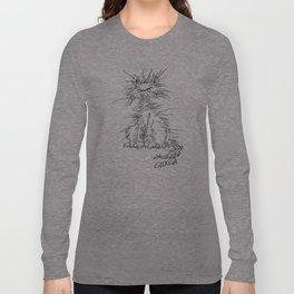 Disgruntled Cat Long Sleeve T-shirt