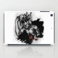 hats iPad Cases featuring Hats Off by Ryan Eduad