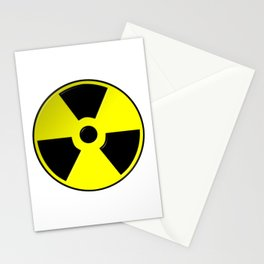 Nuclear Symbol Stationery Cards