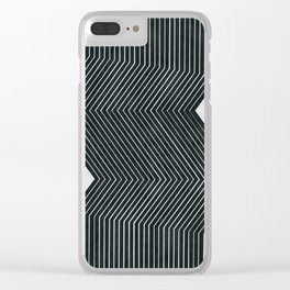 Abstract and minimalist art Clear iPhone Case