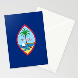 Flag of Guam Stationery Cards
