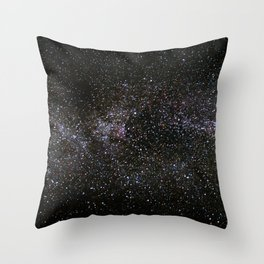 Milky Way Stars Throw Pillow