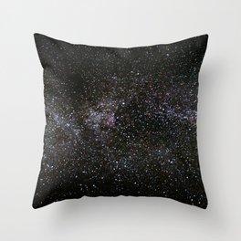 Milky Way Stars Throw Pillow