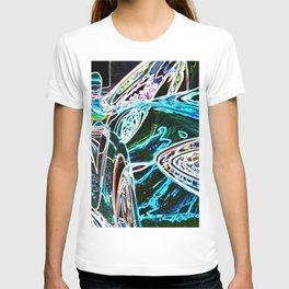 Neon Race Car T-shirt