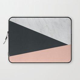 Marble, dark navy Laptop Sleeve