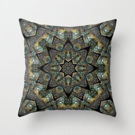 Labradorite Starlight Throw Pillow