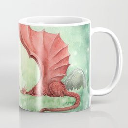 Unicorn and Dragon Coffee Mug