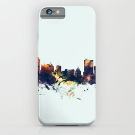 Winnipeg Canada Skyline iPhone Case