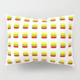 Flag of Lithuania 3– with soft squares Pillow Sham