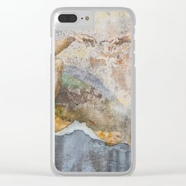 Renaissance Wall 2 Clear iPhone Case