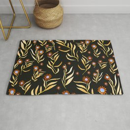 gold nature Rug