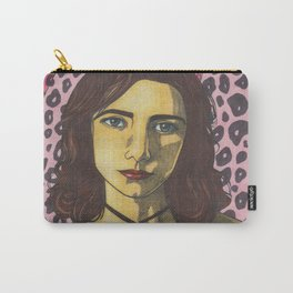 Polly Jean and the Pink Leopard Carry-All Pouch