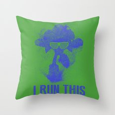 Sonic Boss Throw Pillow